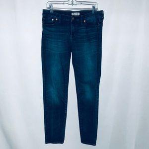 Madewell Alley Straight Blue Jeans Size 31 EUC